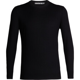 Icebreaker Shearer Crew Sweater Men, black